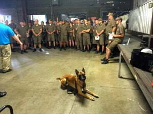Michigan Dog Training, Michael Burkey, UPS, United Parcel Service, dog bite prevention tips, Belgian Malinois