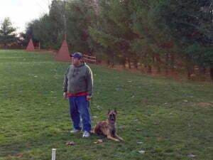 Michigan Dog Training, Michael Burkey, Kaboom du Loups du Soleil