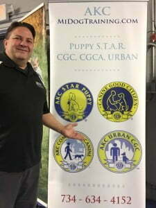 Canine Good Citizen, American Kennel Club, Michigan Dog Training