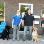 Michigan Dog Training, German Shepherd, Golden Retriever, Michael Burkey, Juliana Arnold
