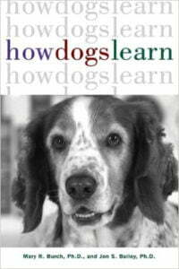 How dogs learn, Michigan Dog Training, Michael Burkey