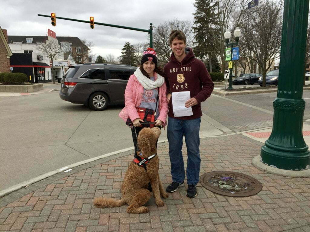 Michigan Dog Training, Urban CGC, Urban Canine Good Citizen, Service Dog in Training, Service Dog, Diabetic Alert Dog