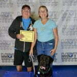 Bruce and Nancy Winkler, English Black Labrador, Michigan Dog Training, Plymouth, Michigan, CGCA