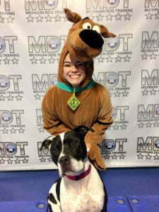 Jessica Bawol, Michigan Dog Training, Halloween