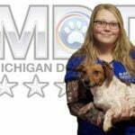 Christie Ward, Michigan Dog Training, Kennel Technician, Plymouth, Michigan